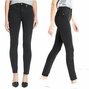 "MADEWELL 9"" High Riser Skinny Jeans, 24"